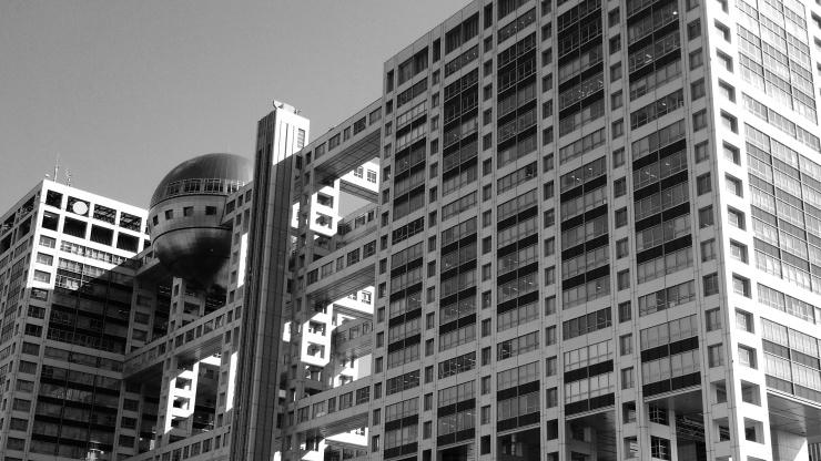 Fuji TV Building, Odaiba, Japan